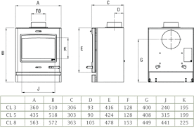 stove dimensions. range with convection · yeoman cl8hb dimensions stove t