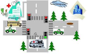intelligent ambulance automatic traffic control engineersgarage logical block diagram intelligent ambulance automatic traffic control2