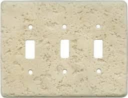 Decorative Light Switch Plates Stonique Mocha Light Switch Plates Outlet Covers Wallplates