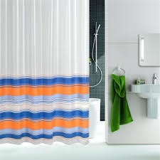 striped shower curtain grey white striped shower curtain