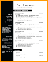 Resume Word Template Modern Cv Template For Word Gotostudy Info