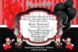 mickey and minnie invitation templates free mickey mouse baby shower invitation orderecigsjuice info