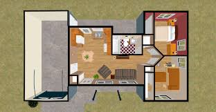Small One Bedroom Mobile Homes Small Modular Cabins Exclusive Home Design