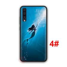 Ốp lưng hoạ tiết phim hoạt hình nàng tiên cá cho Samsung Galaxy A70 A60 A50  A40 A30 A20 A10 M40 M30 M20 M10 giảm chỉ còn 29,000 đ
