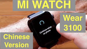 <b>XIAOMI WEAR</b> 3100 <b>MI WATCH</b> 5ATM NFC eSIM Sports ...