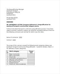 Letter To Company Template 10 Sample Business Reference Letter