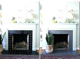 stone around fireplace tile around fireplace grey so happy i was able to use these l and stick tiles tile around fireplace stone fireplace with tv insert