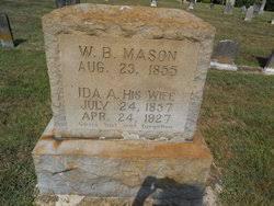 Ida Almeda Griffith Mason (1857-1927) - Find A Grave Memorial