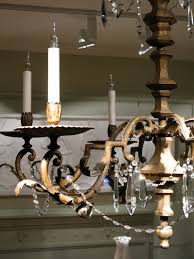 fantastic 1920s italian gilded iron and glass chandelier