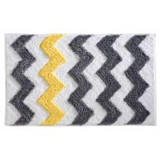 interdesign chevron bath rug u0026 reviews wayfair