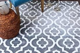 persian rugs moroccan trellis area rug carpet 5 x 7 feet gray