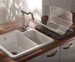 sink farmhouse sink with drainboard and backsplash double