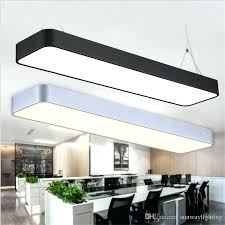 hanging ceiling hanging wire aluminum ceiling lamp office bar lights rectangular ceiling pendant light modern led