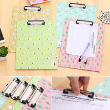 clipboard office paper holder clip. A4 Clipboard File Paper Cardboard Writing Clip Board Office Document Holder I