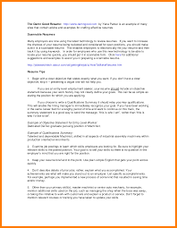 10 Career Summary Examples For Resumes Letter Signature