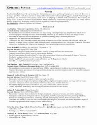 Employment Law Attorney Resume Nice Environmental Attorney Cover