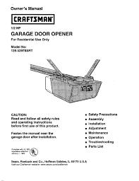 lovely program craftsman garage door opener
