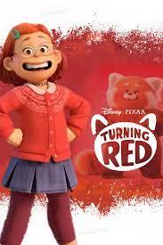 Disney Pixar Turning Red itunes Concept ...