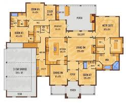 kitchen at front of house plans
