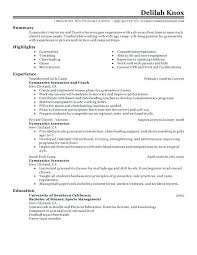Strength And Conditioning Resume Objective Tylermorrison Co