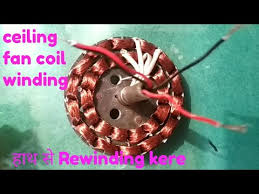 ceiling fan coil winding easy at home hindi