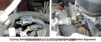 silveradosierra com • how to repair gmc ck series trucks hvac testing ac relay the key on engine off momentarily jump the a c clutch relay from pin 30 to pin 87 the compressor clutch should click