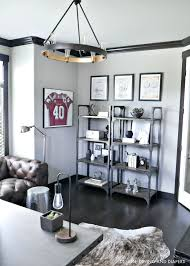 modern rustic office. Industrial Office Design Modern Rustic A