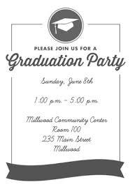 invitation party templates graduation party invitation templates sansalvaje com