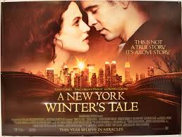 Romantic Movie Poster A New York Winters Tale Original Cinema Movie Poster From