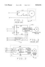 patent us5818194 direct replacement variable speed blower motor patent drawing