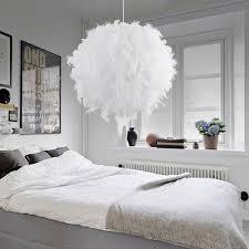 Moderne Pendelleuchte Romantische Traumhafte Feder Droplight Schlafzimmer Hängelampe Lamparas E27 110 240v