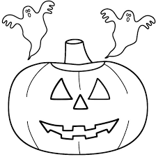 Small Picture Jack o lantern coloring pages with ghosts ColoringStar