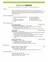 Template Sample Resume Reverse Chronological Order Formater Best