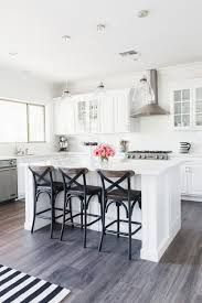 Grey And White Kitchen Tomkat Home Tour 2016 White Quartz Countertops White Subway