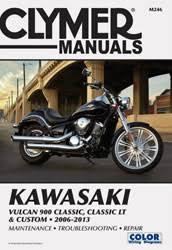 kawasaki motorcycle manuals diy repair manuals clymer kawasaki vulcan 900 classic classic lt custom motorcycle 2006 2013 service