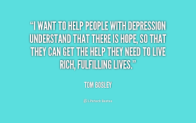 Quotes To Help With Depression Extraordinary Quotes About People With Depression On QuotesTopics
