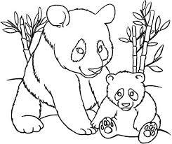 Panda Bear Coloring Pages Img 298635 Coloring Pinterest Panda