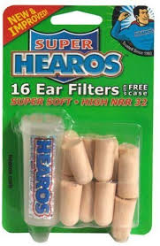 Hearos, <b>Ear Plugs</b>, <b>Ultimate</b> Softness Series, 8 Pair: Amazon.co.uk ...