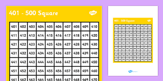 Printable Number Grid To 500 Chartlist Stunningplaces Co