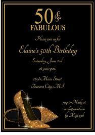 free th birthday invitation templates fancy free 50th