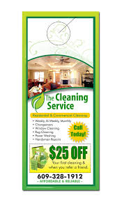 Door Hanger Design Template Mesmerizing Cleaning Service Door Hanger Samples