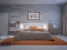 Nice This Cool, Cozy Room Is A Mixture Of Calming Grey And Wild, Zesty And  Exciting Orange To Create A Modern Coupleu0027s Bedroom. The Awesome Looking  Bed Is ...