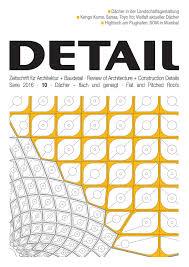 Detail 102016 Dächer By Detail Issuu