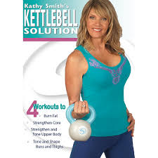 Kathy Smith Kettlebell Solution Workout DVD   Stamina Products