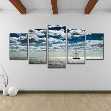 bruce bain ship 5 piece set canvas wall art overstock shopping  on canvas wall art overstock with bruce bain ship 5 piece set canvas wall art overstock shopping