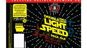 Light Speed Toppling Goliath Toppling Goliath Files Label For Double Dry Hop Light Speed