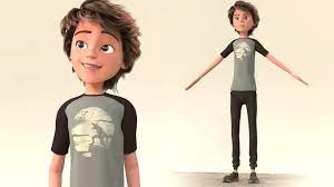 Get Free A Boy Cartoon - Cartoon Character
