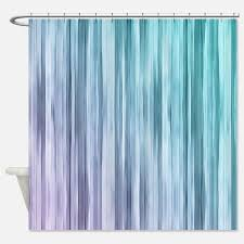 Plain Purple And Green Shower Curtains Turquoise Fabric S Intended Modern Design