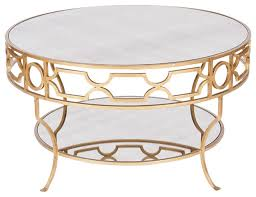 brilliant round gold coffee table with regard to ideas 9