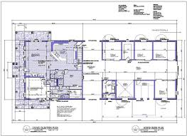Barn Floor Plans With Living Quarters U2013 Barn Plans VIPBarn Plans With Living Quarters Floor Plans